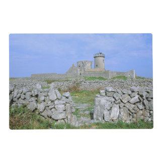 Ireland, Inishmore, Aran Island, Dun Aengus Fort Laminated Placemat