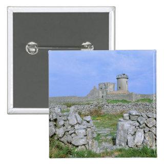 Ireland, Inishmore, Aran Island, Dun Aengus Fort Pinback Button