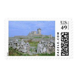 Ireland, Inishmore, Aran Island, Dun Aengus Fort Postage