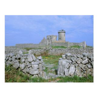 Ireland, Inishmore, Aran Island, Dun Aengus Fort Postcard