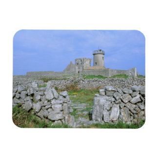 Ireland, Inishmore, Aran Island, Dun Aengus Fort Rectangular Photo Magnet