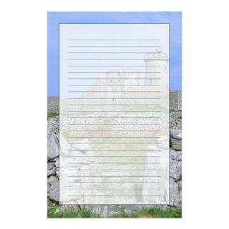 Ireland, Inishmore, Aran Island, Dun Aengus Fort Stationery