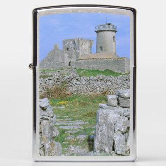 Ireland, Inishmore, Aran Island, Dun Aengus Fort Zippo Lighter