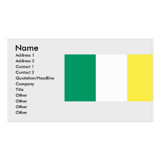 Ireland , Ireland Double-Sided Standard Business Cards (Pack Of 100)
