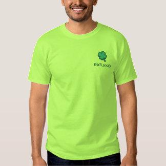 Ireland Irish Embroidered T-Shirt