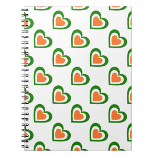 Ireland/Irish flag-inspired Personnalised Notebook