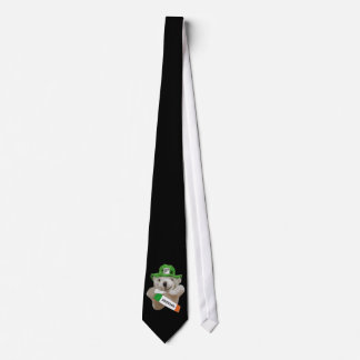 Ireland, Irish Leprechaun Teddy Bear, Black Tie