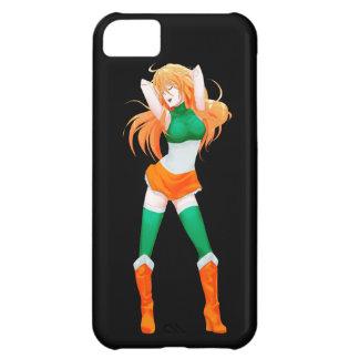 Ireland Irish Manga Flag girl Cover For iPhone 5C