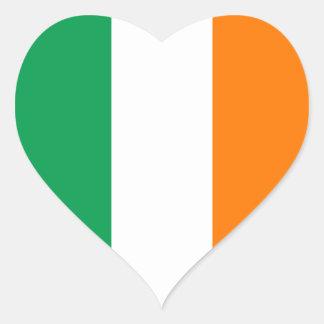 Ireland – Irish National Flag Heart Sticker