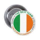 Ireland Irlanda Art Shield Pin Redondo 5 Cm