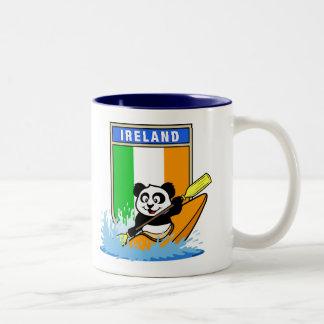 Ireland Kayaking Panda Coffee Mug
