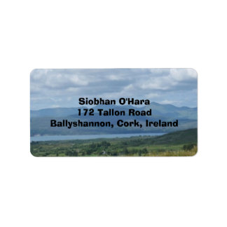 Ireland--Kenmare River SW Cork Address Label