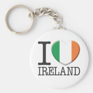 Ireland Key Chain