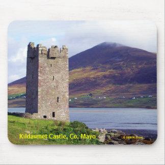 Ireland: Kildawnet Castle Mousepad