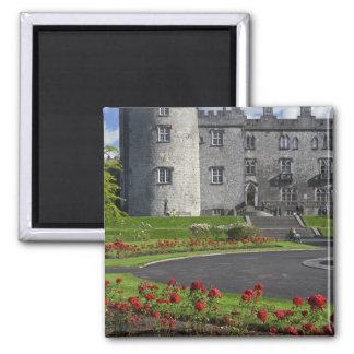 Ireland, Kilkenny. View of Kilkenny Castle. 2 Inch Square Magnet