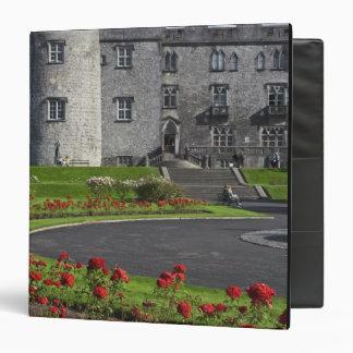 Ireland, Kilkenny. View of Kilkenny Castle. Vinyl Binder