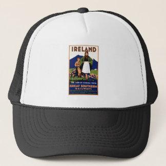 Ireland Land of Eternal Vintage Trucker Hat