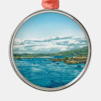 Ireland Landscape Metal Ornament