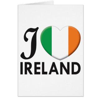 Ireland Love Card