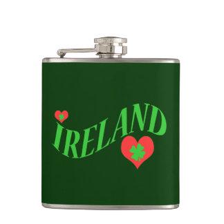 Ireland Love Flask