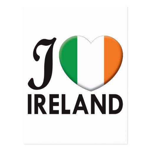 Ireland Love Postcard