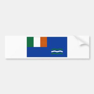 Ireland Malahide Yacht Club Ensign Bumper Sticker