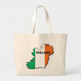 Ireland Map Jumbo Tote Bag