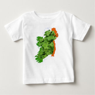 Ireland Map by Kenneth Yoncich Baby T-Shirt