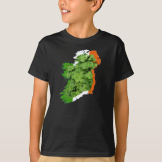 Ireland Map by Kenneth Yoncich T-Shirt