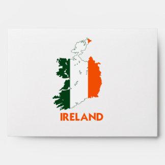 IRELAND MAP ENVELOPE