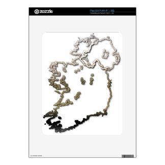 Ireland-Map iPad Skins