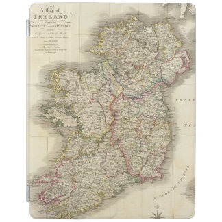 Ireland map iPad smart cover