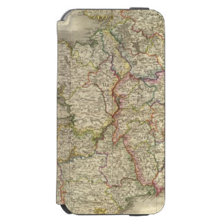 Ireland map iPhone 6/6s wallet case