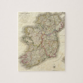 Ireland map jigsaw puzzles