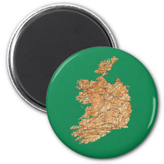 Ireland Map Magnet