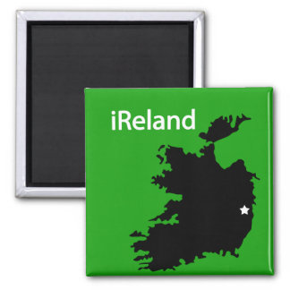 iReland Map Magnet