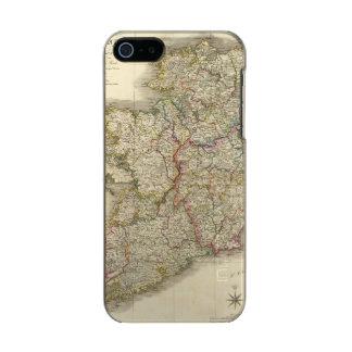 Ireland map metallic phone case for iPhone SE/5/5s