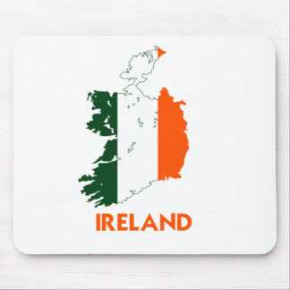 IRELAND MAP MOUSE PAD