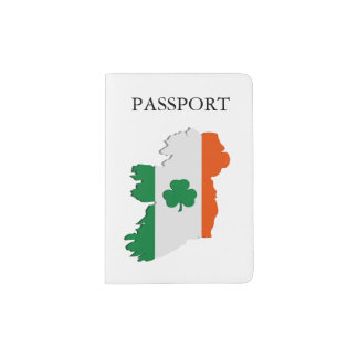 Ireland map passport holder