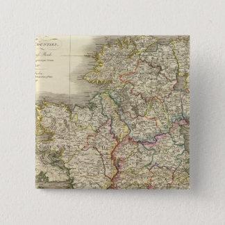 Ireland map pinback button