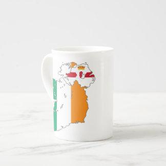IRELAND - MAP TEA CUP