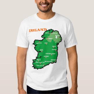 Ireland Map T Shirts