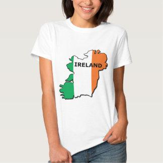 Ireland Map Tshirt
