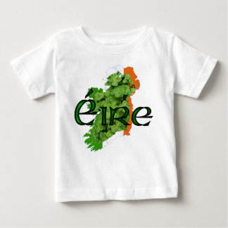 Ireland Map v2 by Kenneth Yoncich Baby T-Shirt