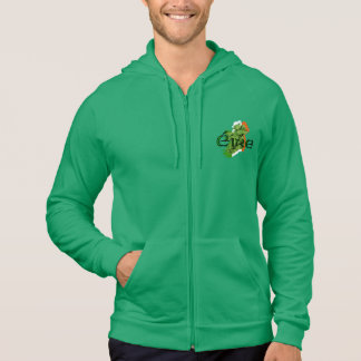 Ireland Map v2 by Kenneth Yoncich Hoodie