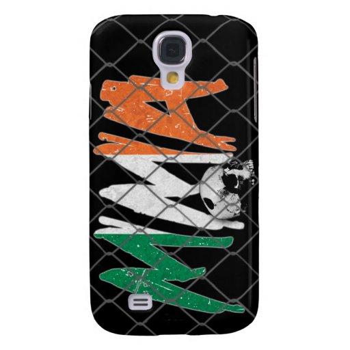 Ireland MMA Skull Black iPhone 3G/3GS Case Galaxy S4 Cases