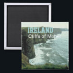 "Ireland Moher Cliffs Travel Photo Souvenir Magnet<br><div class=""desc"">Refrigerator magnets picture the Moher Cliffs in Ireland.</div>"
