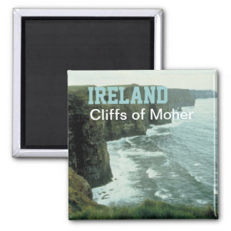 Ireland Moher Cliffs Travel Photo Souvenir Magnet
