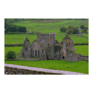 Ireland mysterious castle poster 8.60