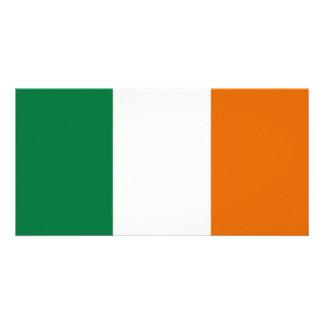 Ireland National Flag Photo Card